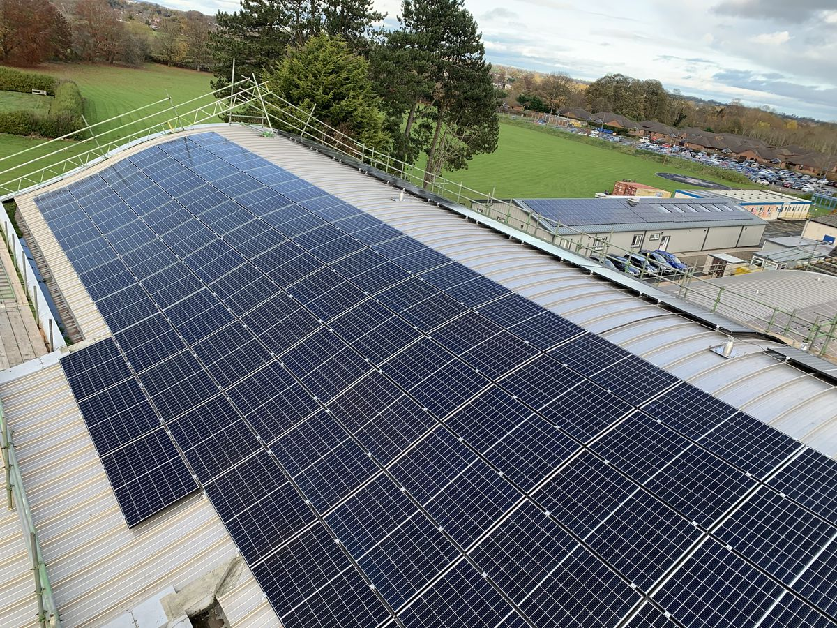 The Robert Jones and Agnes Hunt Orthopaedic Hospital NHS Foundation Trust has had 1,760 solar panels fitted