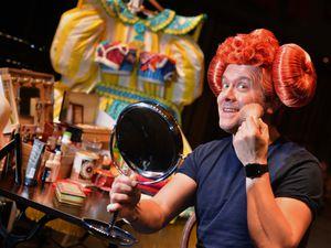 Brad Fitt at Shrewsbury's Theatre Severn