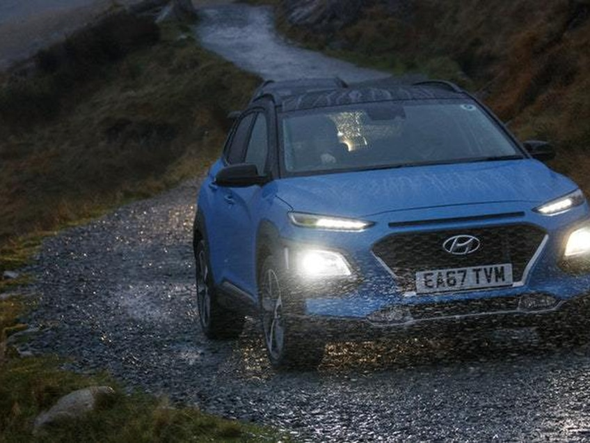 Experiencing Snowdon's Miners' Track in the Hyundai Kona