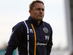 Shrewsbury Town boss Paul Hurst keeping calm after rise in bets on them