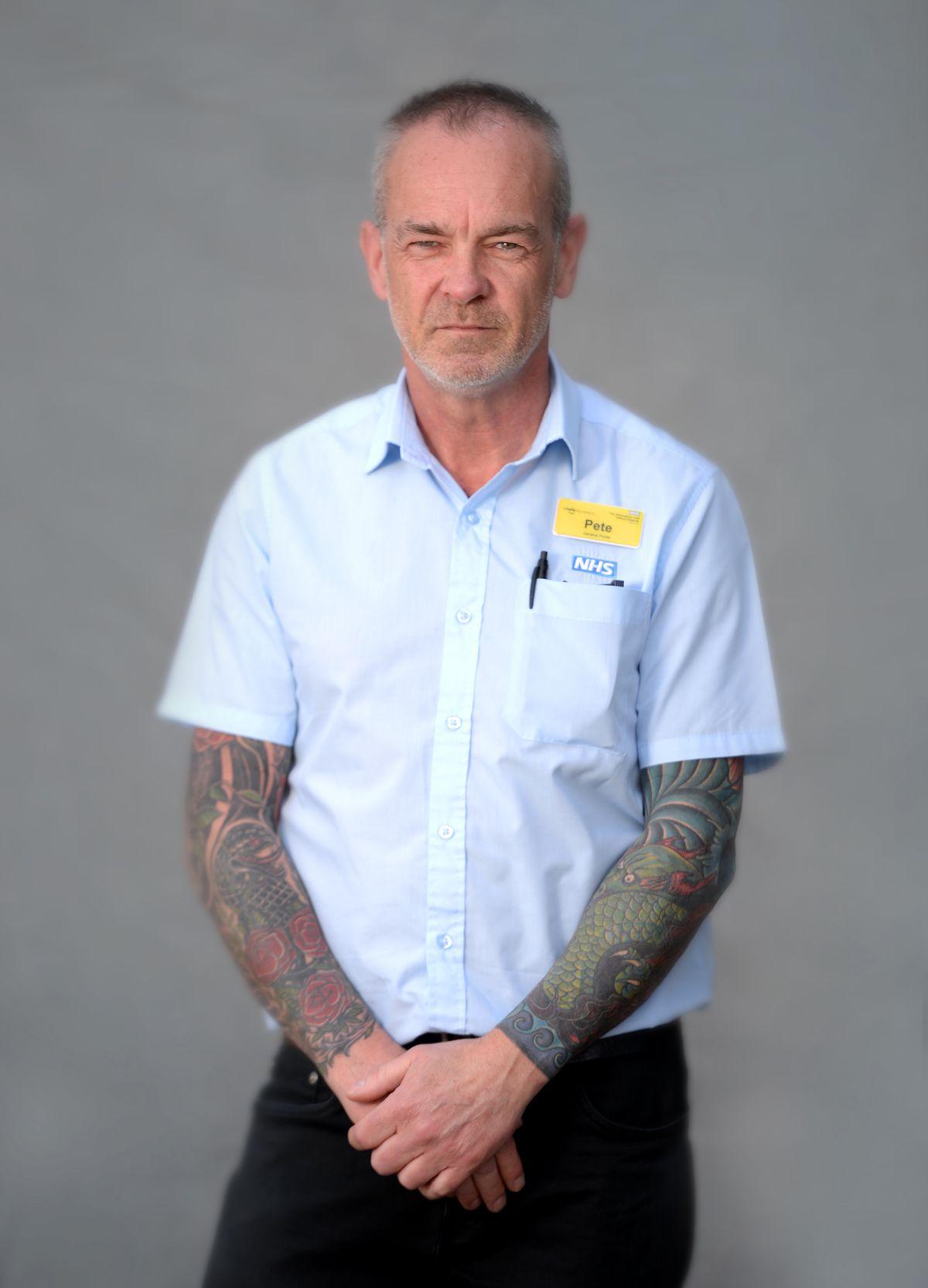 Pete Morris, porter
