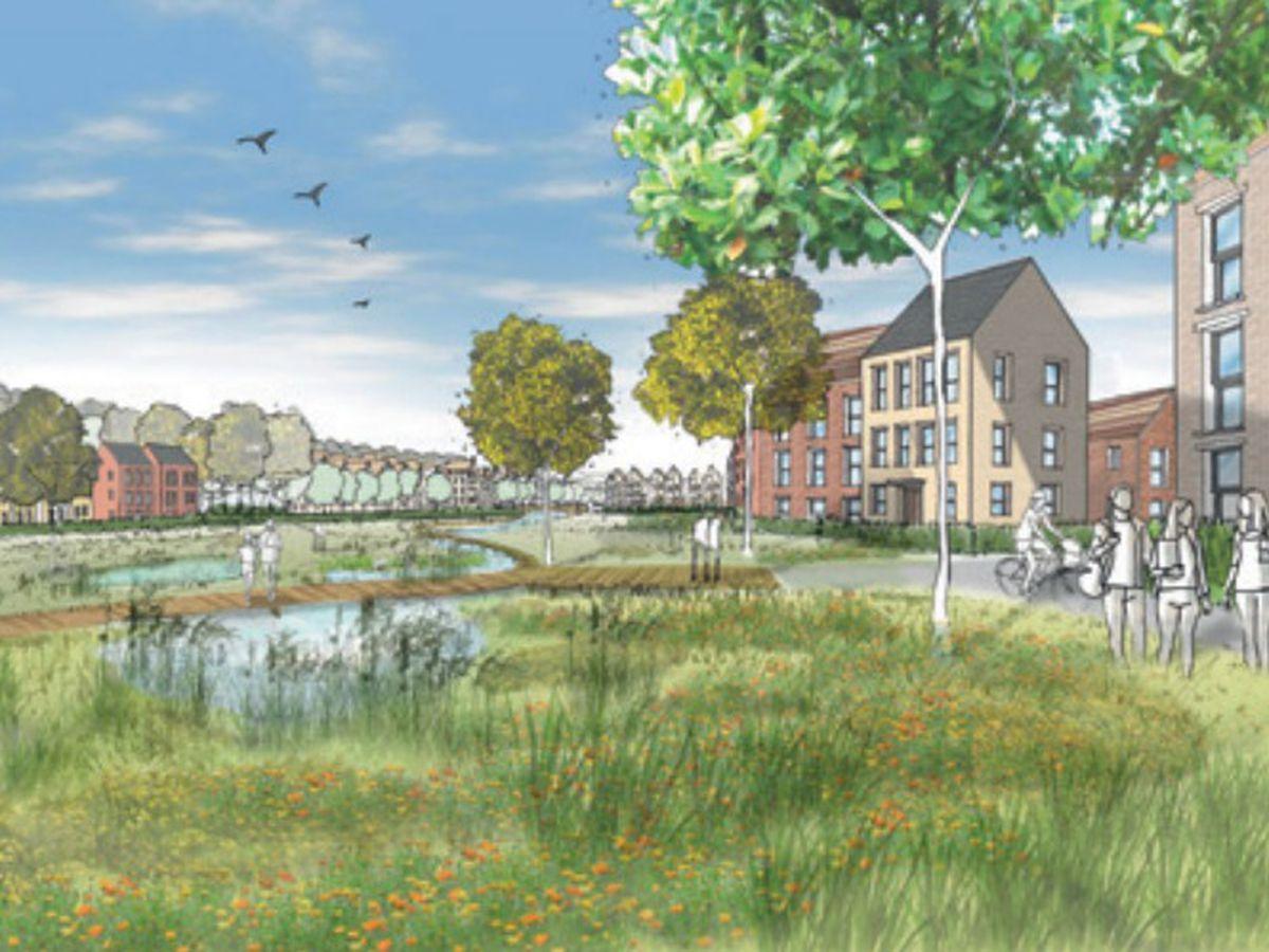 Master plan revealed for Bridgnorth 'garden village' proposal