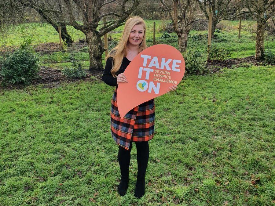 Jessica Druce, area fundraiser for Severn Hospice