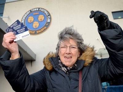 Excitement building in Shrewsbury as tickets go on sale for Liverpool FA Cup clash - with video and pictures