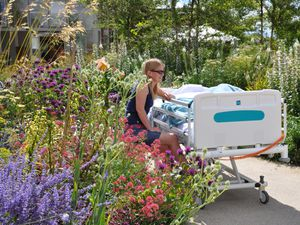 Chelsea Flower Show fundraiser for charity with a garden in the county