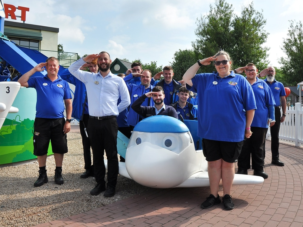 Drayton Manor offers free tickets to thank armed forces   Shropshire