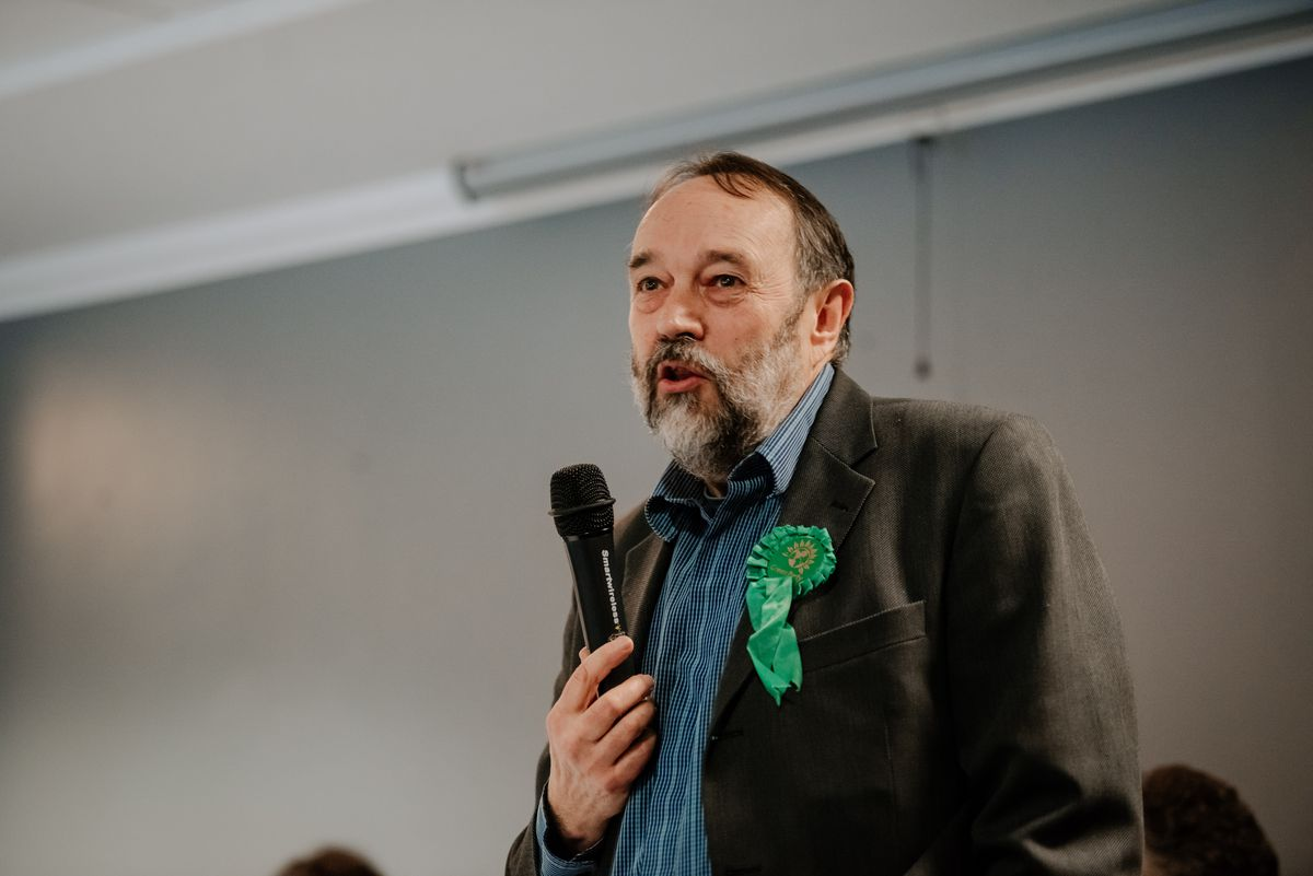 Tim Dawes from the Green Party