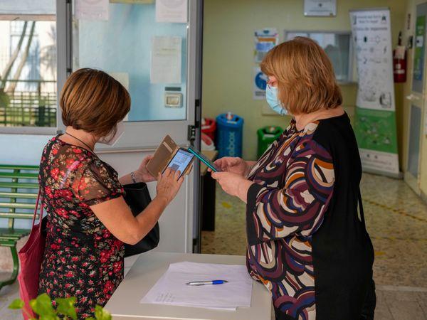 Virus Outbreak Italy Health Pass