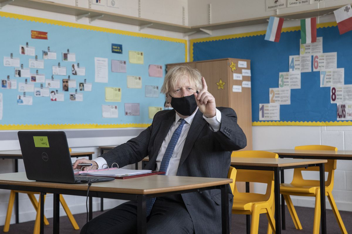 Boris Johnson and No 10 are accused giving a 'clear steer' not to make contingency plans on school closures or scrapping exams, a decision described as 'unforgivable'