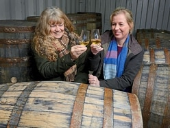 Raising a glass to Shropshire distillery's success