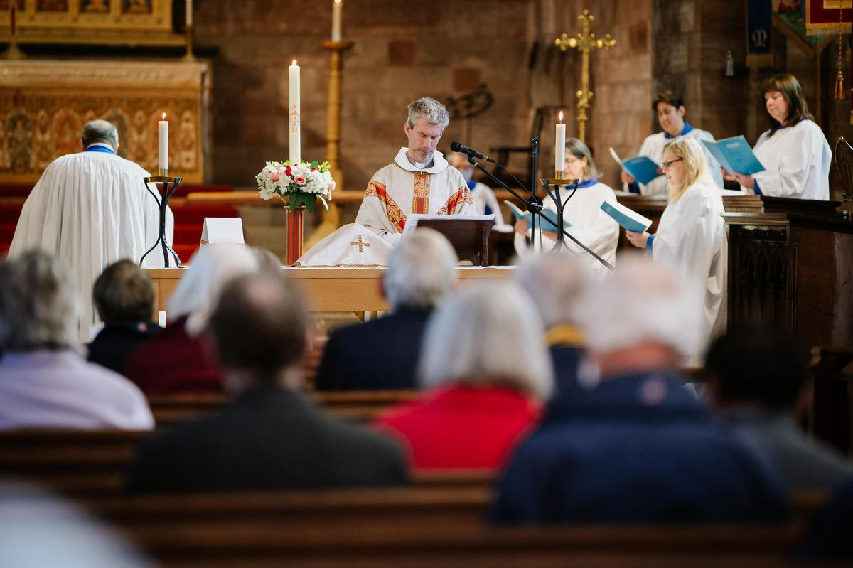 Service at the Abbey