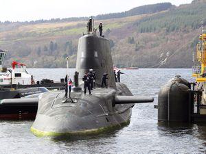 A Royal Navy Astute class submarine