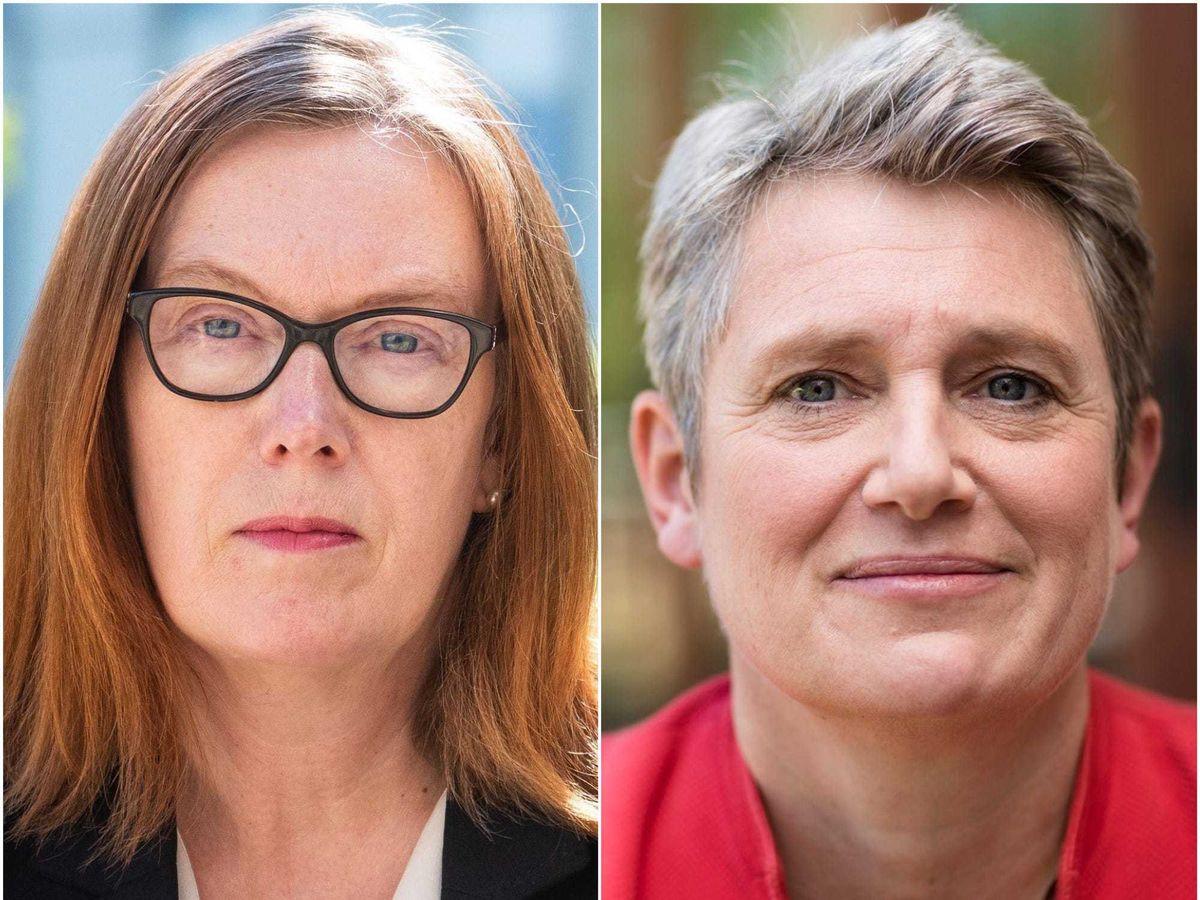 Professor Sarah Gilbert and Kate Bingham
