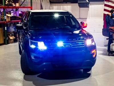 Ford introduces technology that heats up police cars to reduce Covid-19 spread