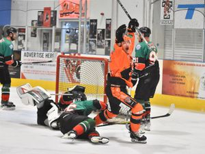 Telford Tigers cut apart by the Knights