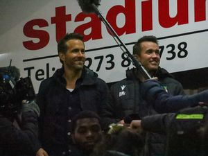 Owners Ryan Reynolds and Rob McElhenney surprise Wrexham