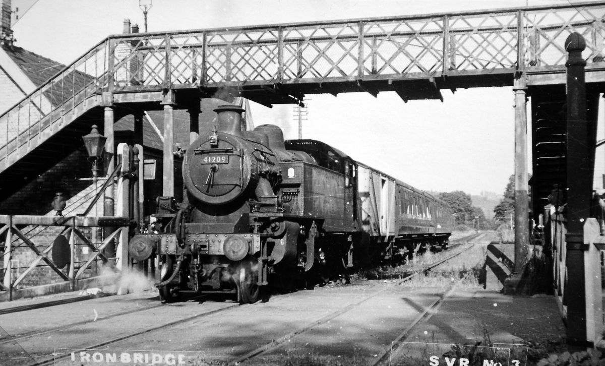 A northwards SVR revival would have seen steam trains return to the old Ironbridge railway station.