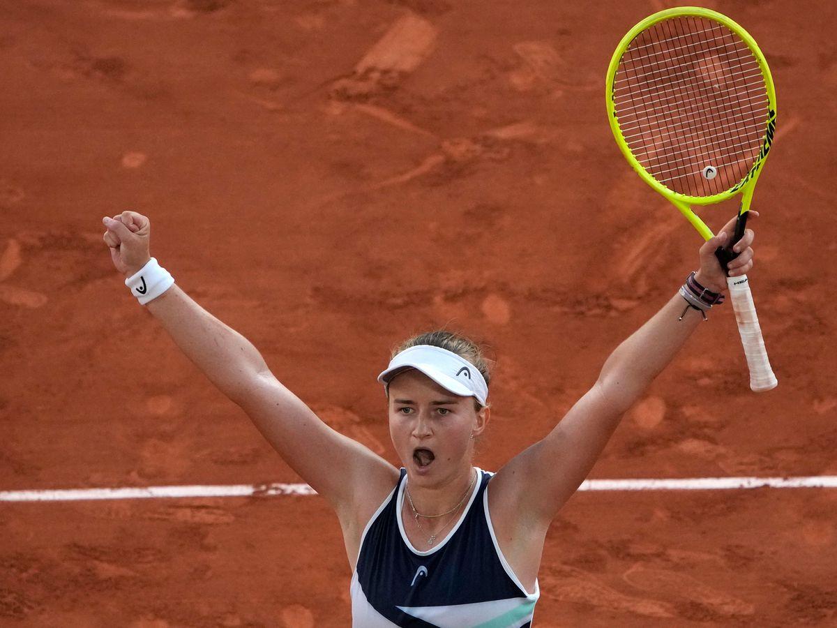 Barbora Krejcikova has surprised herself at Roland Garros