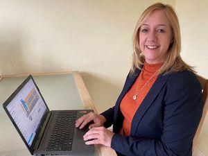 Amanda Carpenter, project officer for Ladder for Shropshire