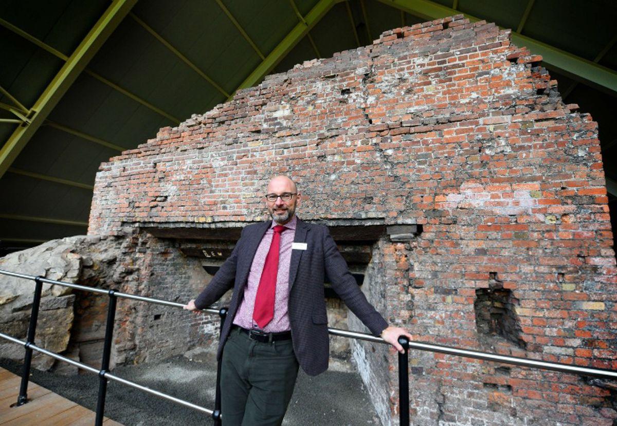Nick Ralls, chief executive at the Ironbridge Gorge Museum Trust