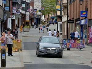 The query involves speed bumps such as those installed in Shrewsbury in recent months