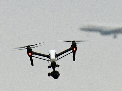 Government restricts drone flying near Port of Dover