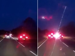 'Reckless': Dashcam footage shows terrifying near miss outside Shifnal - watch the video