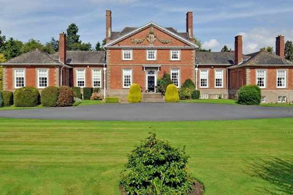 Historic hall on market for £2.35m
