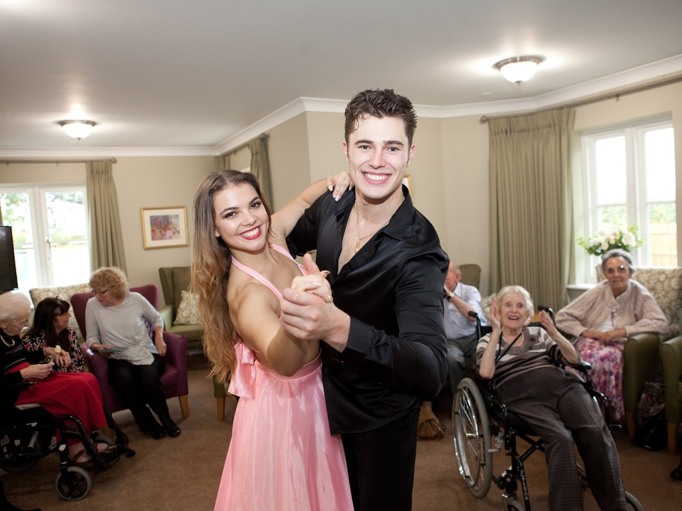 Strictly caring: Shrewsbury home welcomes dance pair