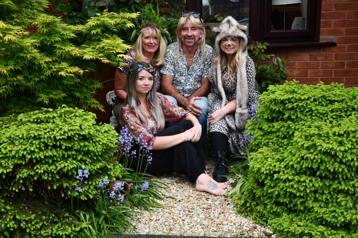 Lucy Poole:              Brian, Jayne, Katherine and Rebekah Poole, in Ketley Grange