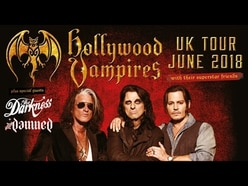 Johnny Depp, Alice Cooper and Joe Perry to play Birmingham as Hollywood Vampires in first-ever UK tour