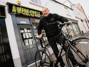 NORTH COPYRIGHT SHROPSHIRE STAR JAMIE RICKETTS 26/04/2021 - BUSINESS - Rod Evans from A Mere Cycle in Ellesmere - Managed to survive during lockdown..
