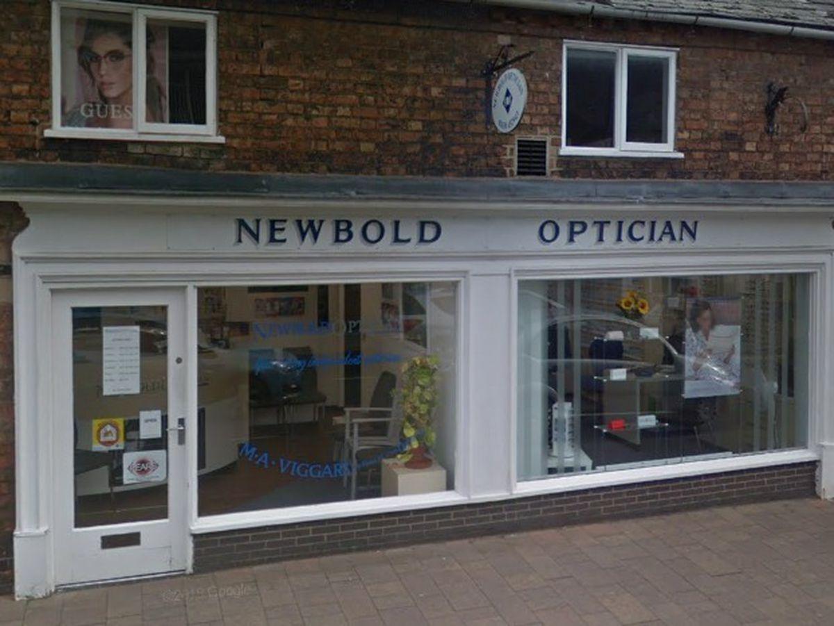 Newbold Opticians. Photo: Google Maps