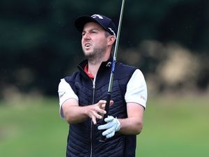 File photo dated 22-07-2020 of England's Ashley Chesters during day one of the Betfred British Masters at Close House Golf Club, Newcastle. PA Photo. Issue date: (enter date here). See PA story (enter Topic Keyword). Photo credit should read Mike Egerton/PA Wire.