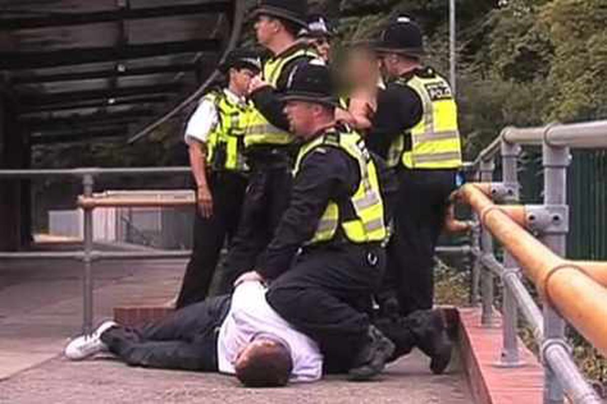 Forty six arrests after EDL protest in Telford