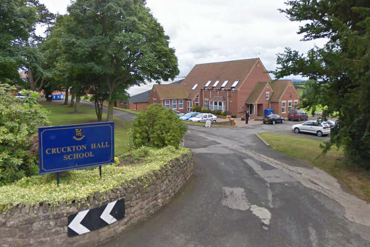 The home is affiliated to Cruckton Hall School, pictured. Photo: Google StreetView
