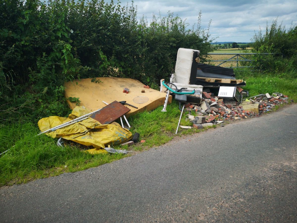 Another incident at the Bradford Estates near to Brineton.