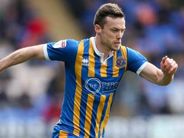 Shaun Whalley signs new two-year Shrewsbury Town contract