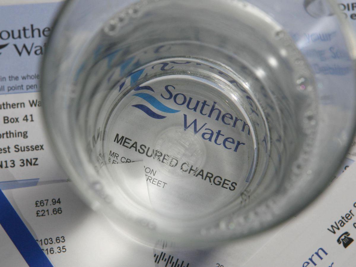 A Southern Water bill
