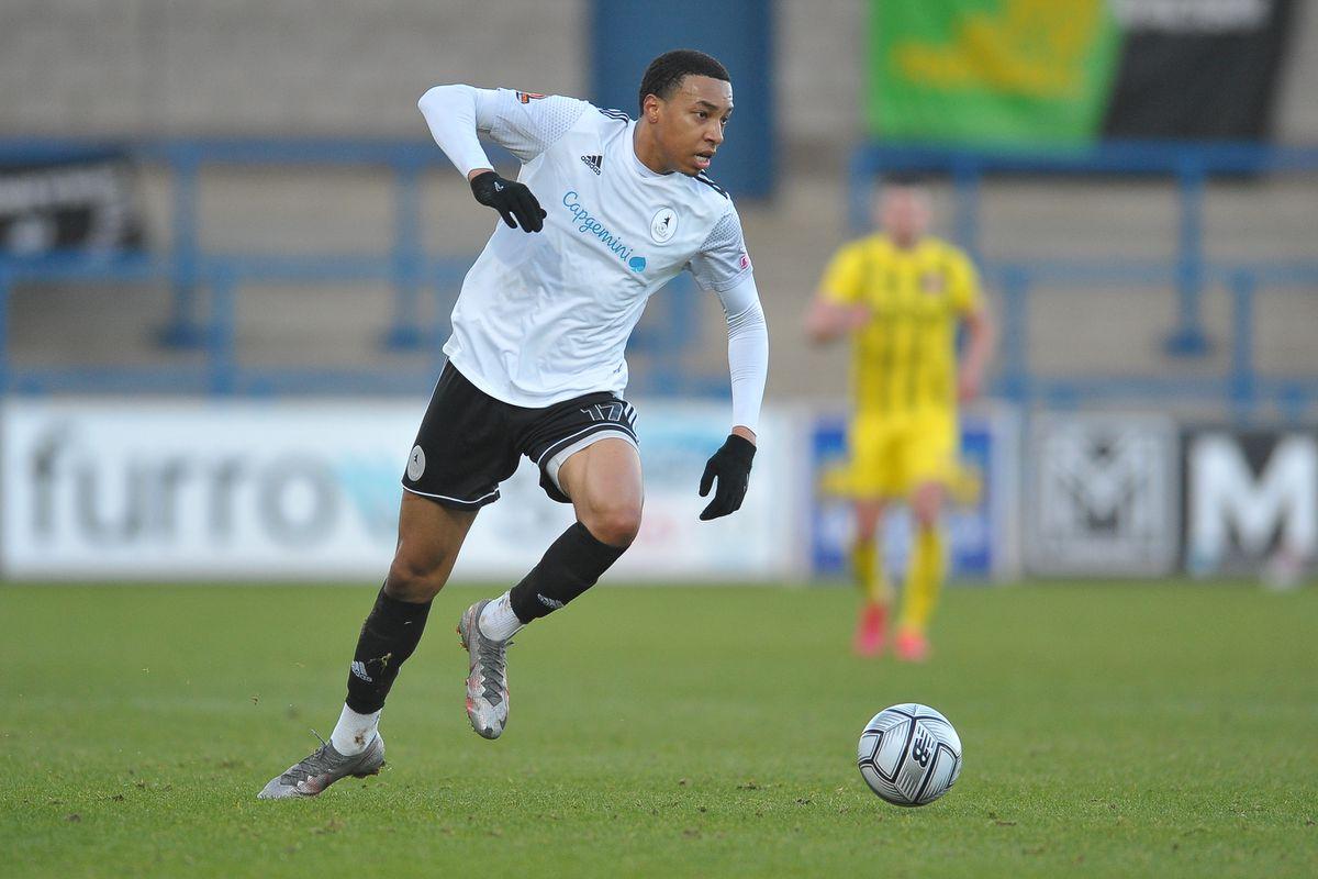 New AFC Telford signing Kole Hall