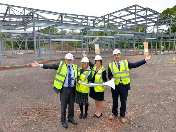 Severn Hospice extension taking shape in Shrewsbury - with video