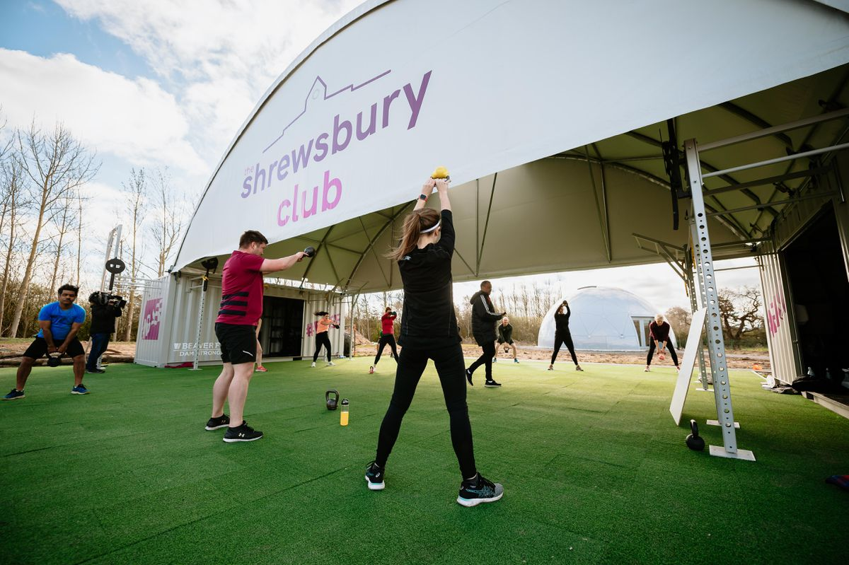 Outdoor exercise has returned to The Shrewsbury Club including Tennis and Bootcamps at their new outdoor facility
