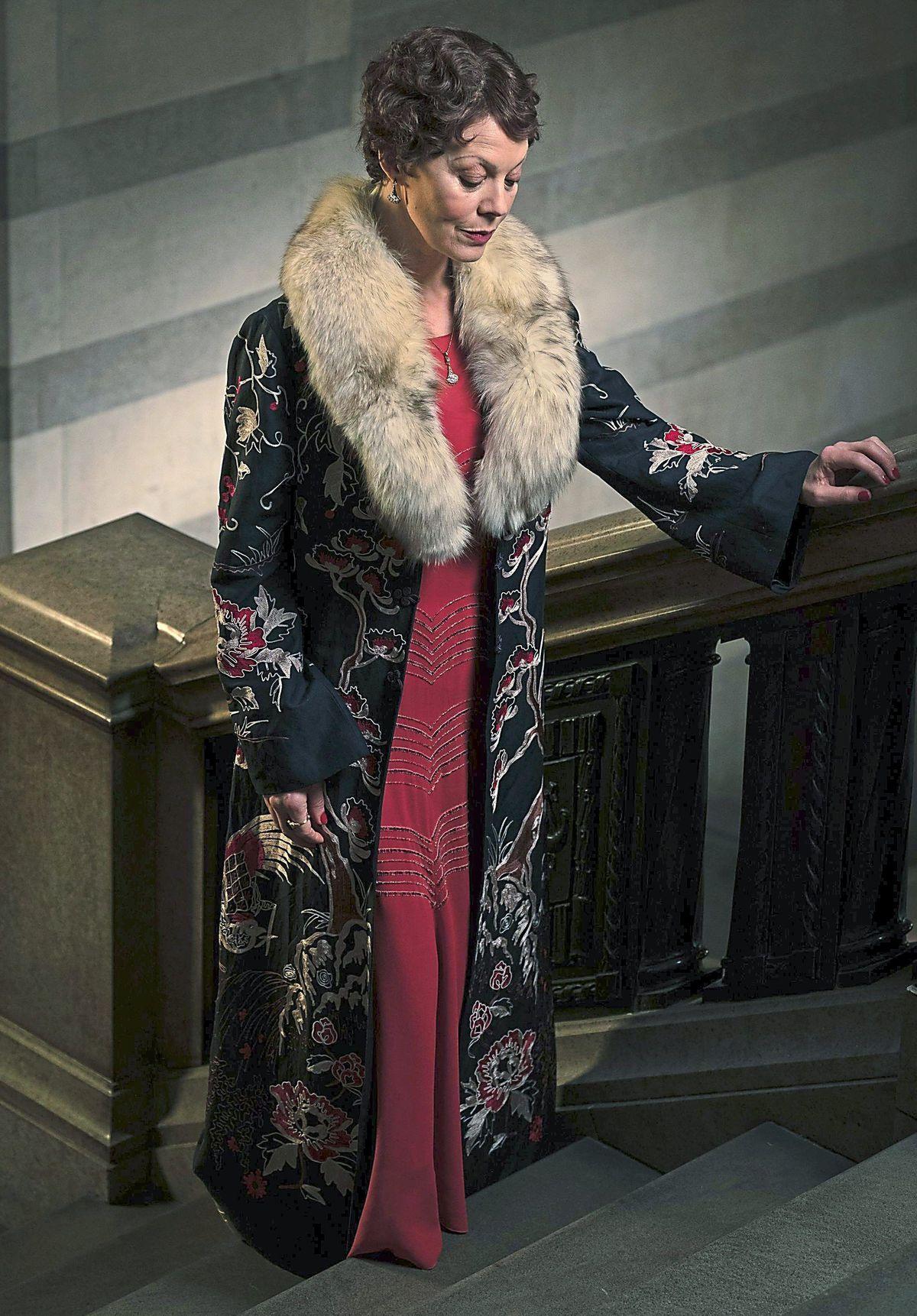 Helen McCrory as Polly Gray in Peaky Blinders. Pic: Matt Squire
