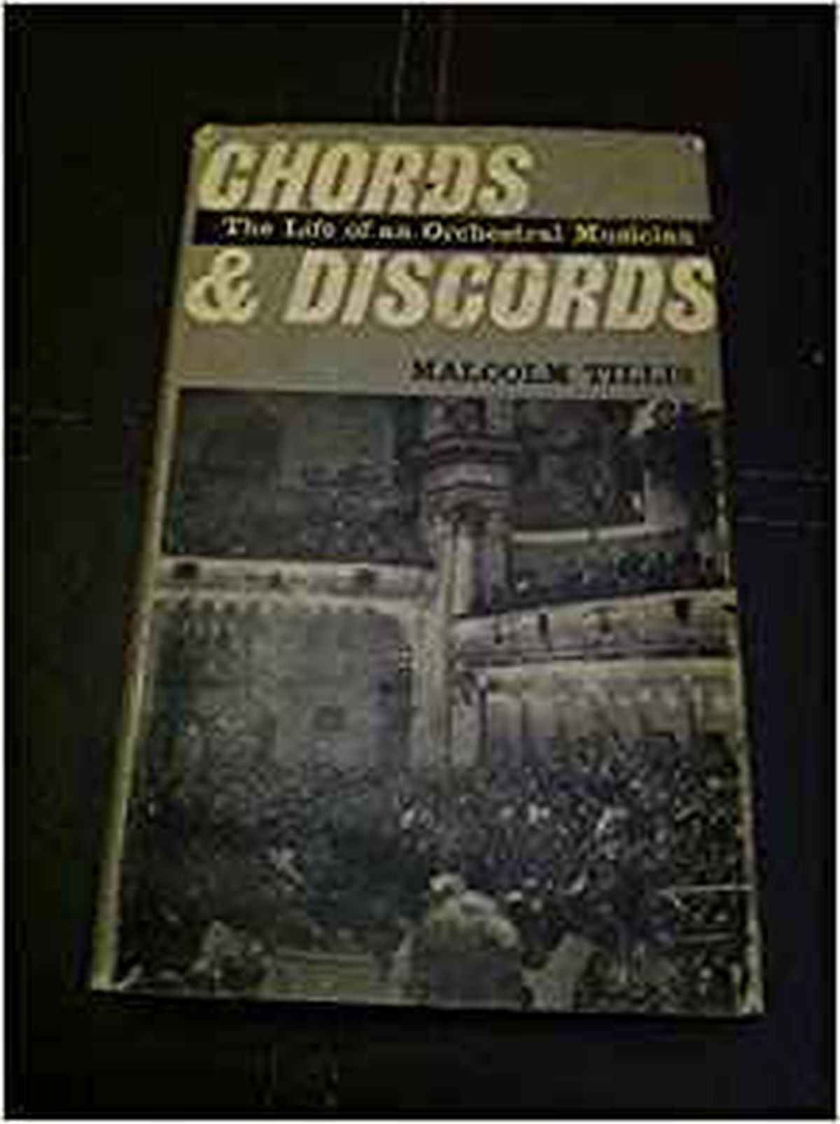 Malcolm's controversial book, Chords and Discords