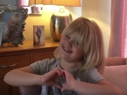 Shrewsbury girl, 8, creates video featuring famous faces to spread message of love to NHS staff