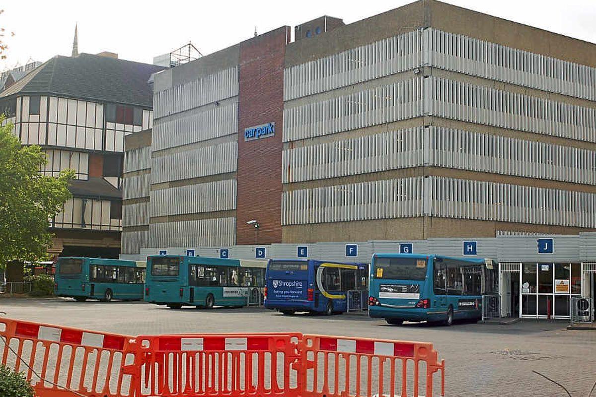 Mystery as man arrested over Shrewsbury bus station photos