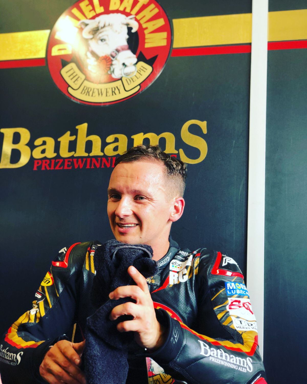 Richard Cooper hopes to return to racing this year