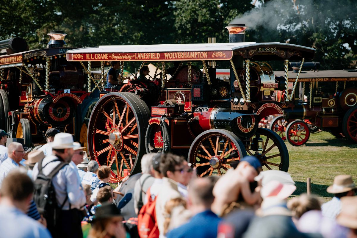 Shrewsbury Steam Rally has been cancelled