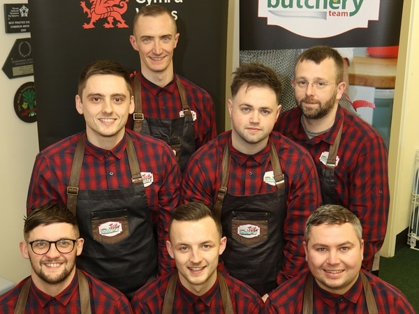 Welsh butchers in global competition