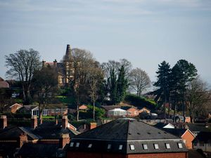 Views from Castle Bank Oswestry by Jamie Rickets